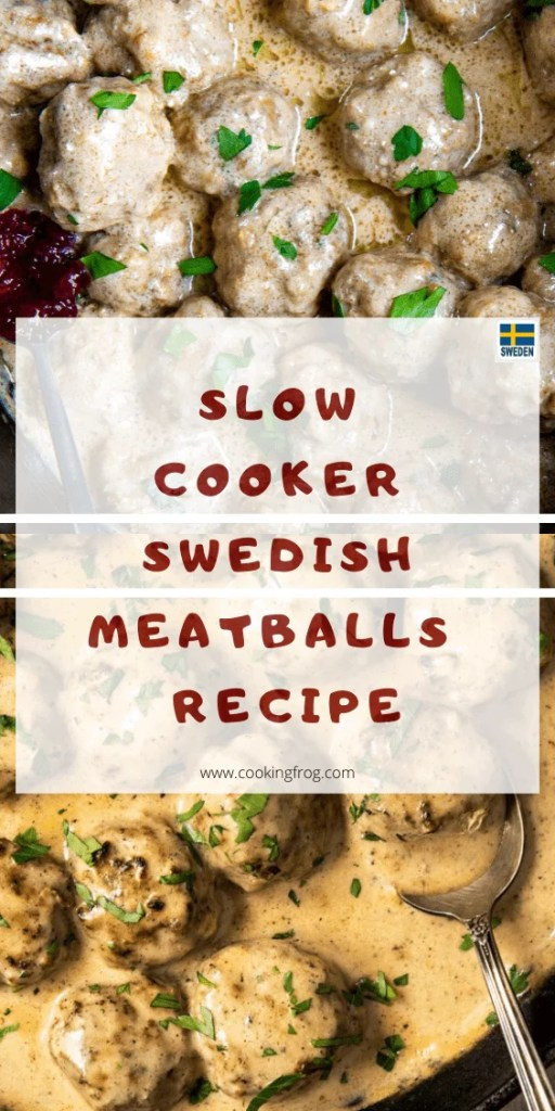 Slow Cooker Swedish Meatballs Best Recipe