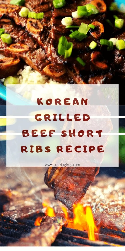Korean Grilled Beef Short Ribs Recipe