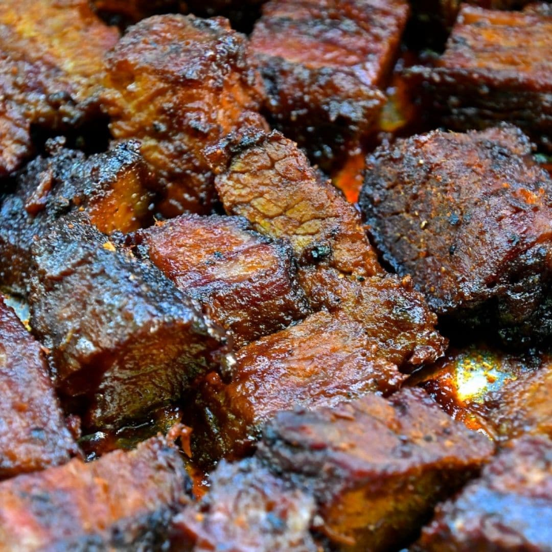 BBQ Brisket Burnt Ends Easy Recipe