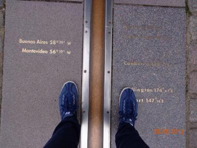 Walking the line @Greenwich