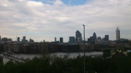 View from the Tate Modern Terrasse