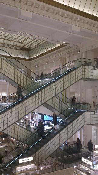 """Inside """"le bon marché"""" department store"""