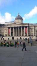 The National gallery - Trafalgar square