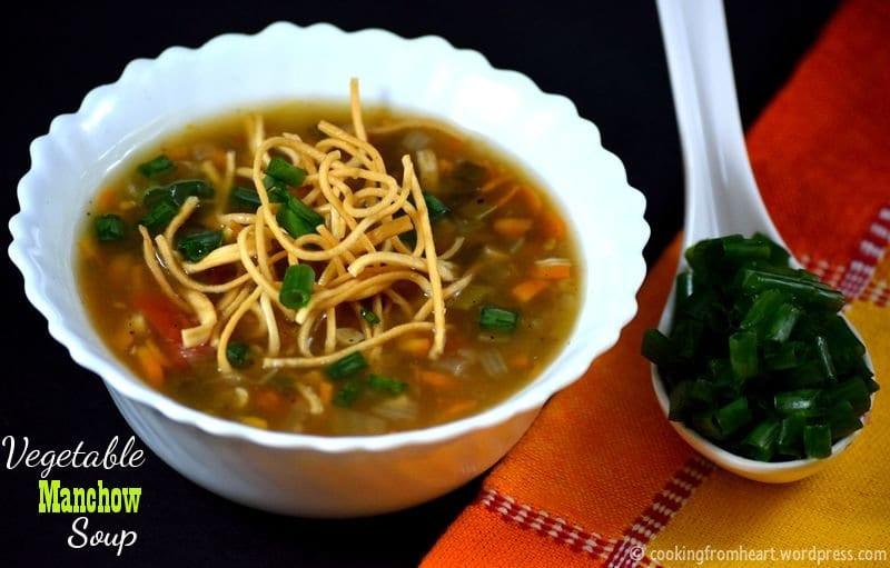 Vegetable Manchow Soup | Soup Recipes