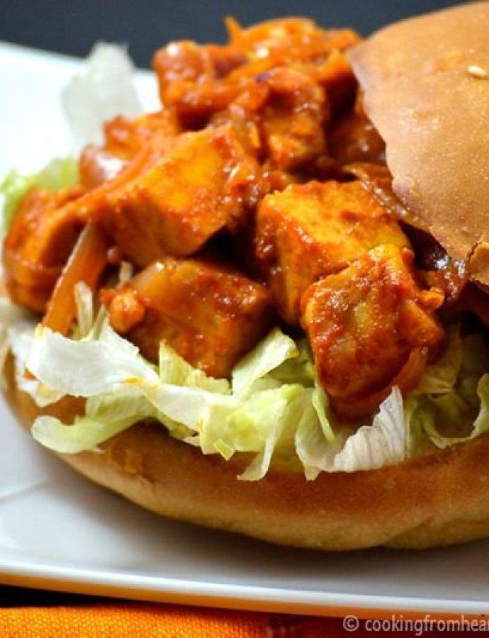 Spicy Panner Burger   Paneer Slider Recipe