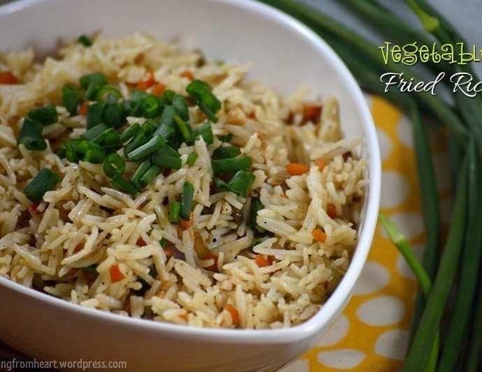 Veg Fried Rice | Vegetable Fried Rice Recipe