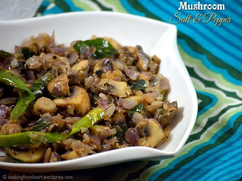 Mushroom Salt and Pepper | Quick & Easy Appetizers