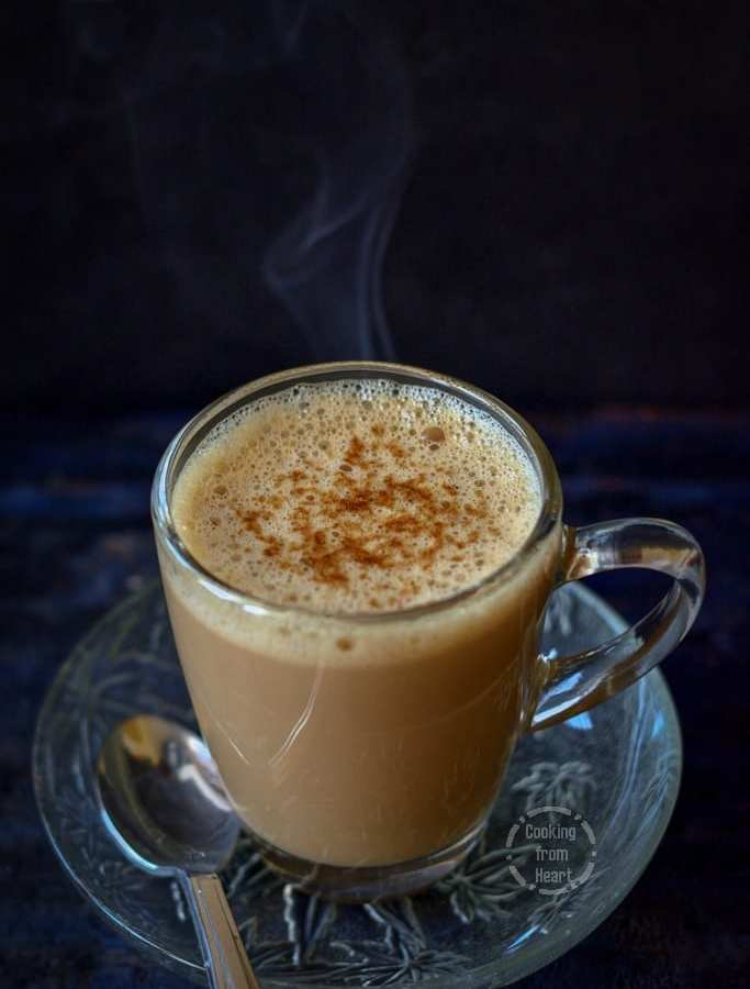 Vanilla Latte | Homemade Vanilla Coffee Latte