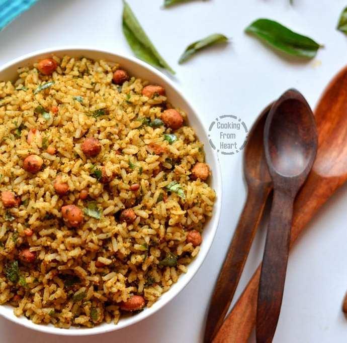 Karuveppilai Sadam | Spicy Curry Leaves Rice