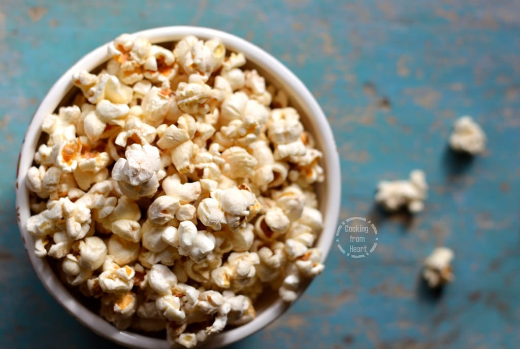 Homemade Butter Popcorn