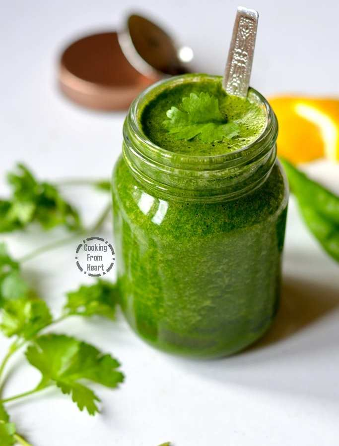 Green Chutney | Green Chutney for Chaat
