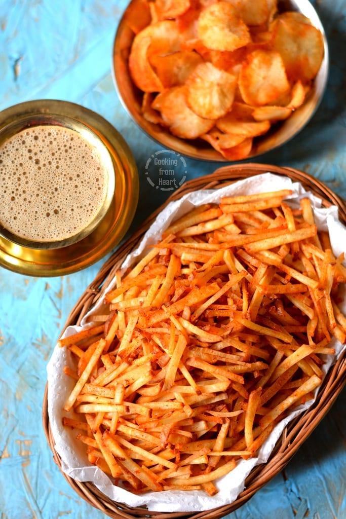 Maravalli Kizhangu Chips