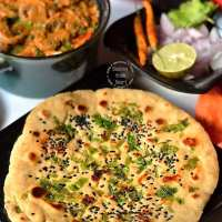 Whole Wheat Kulcha | Instant Wheat Kulcha