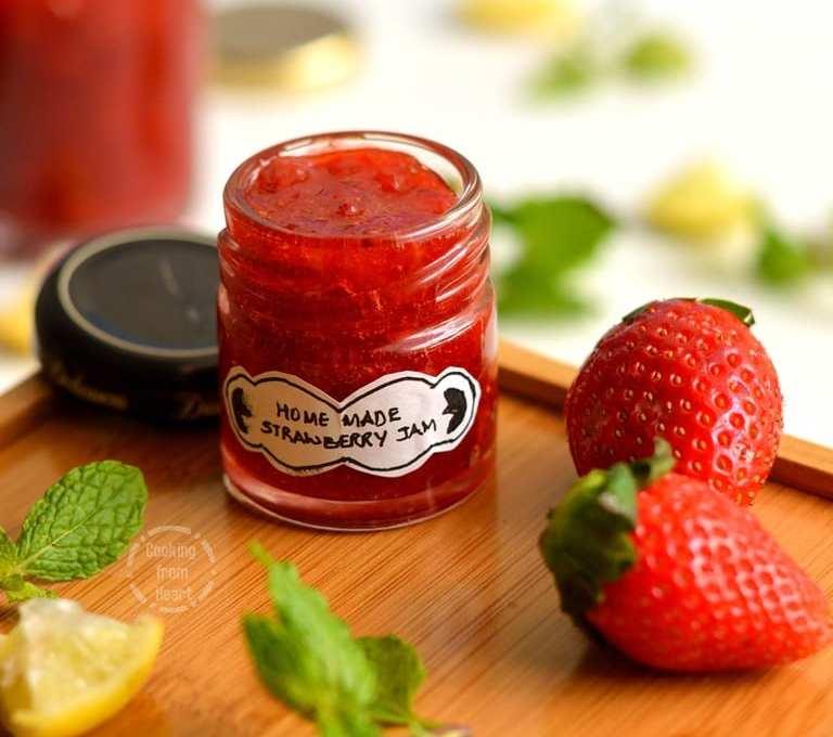 Homemade Strawberry Jam   Easy Strawberry Jam