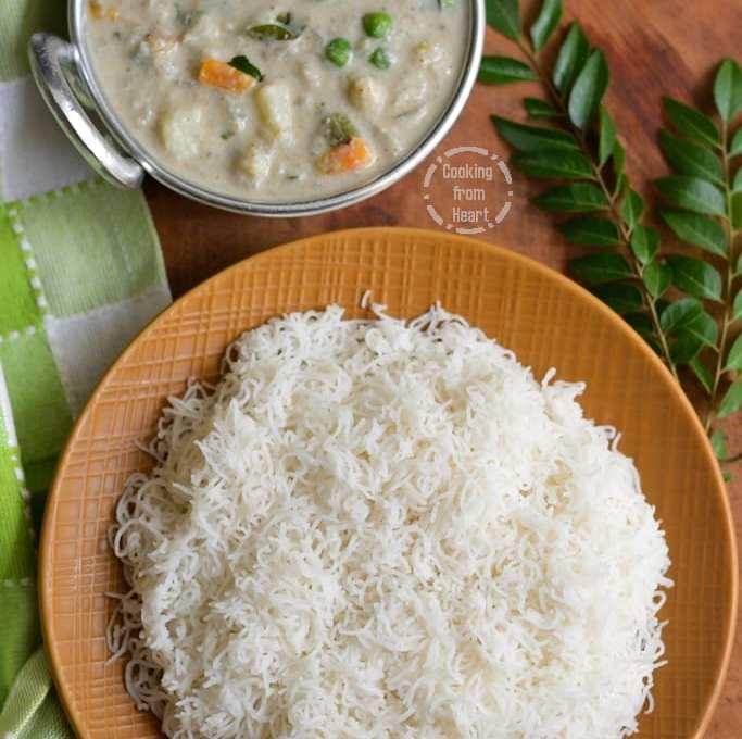 Idiyappam | Nool Puttu | Rice String Hoppers