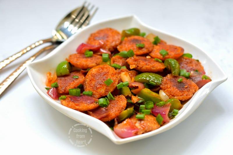 Low Calorie Chilli Idli