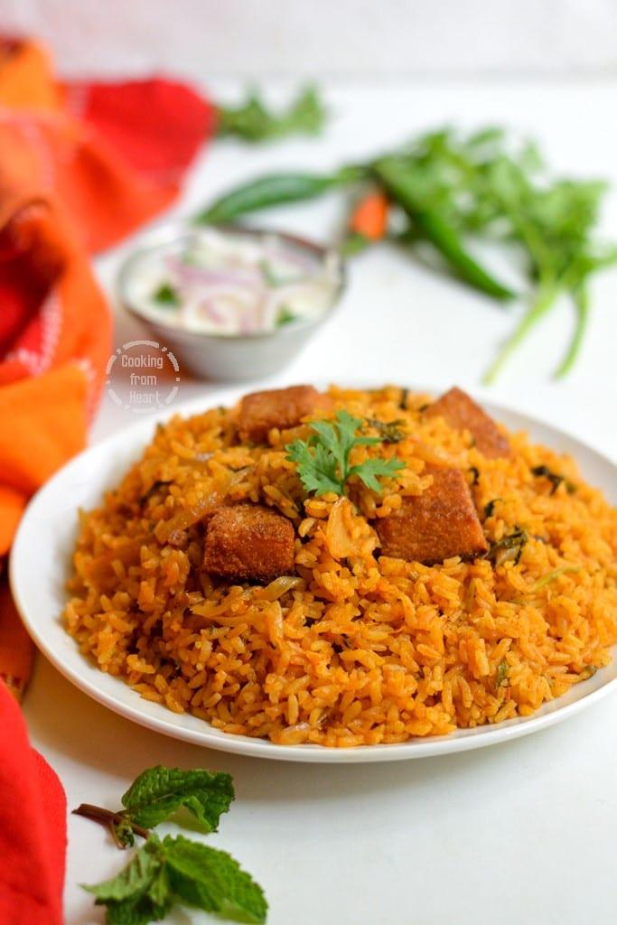 Easy Brinji Rice