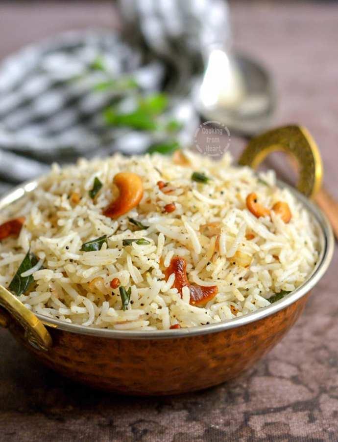 Pepper Rice | Milagu Sadam
