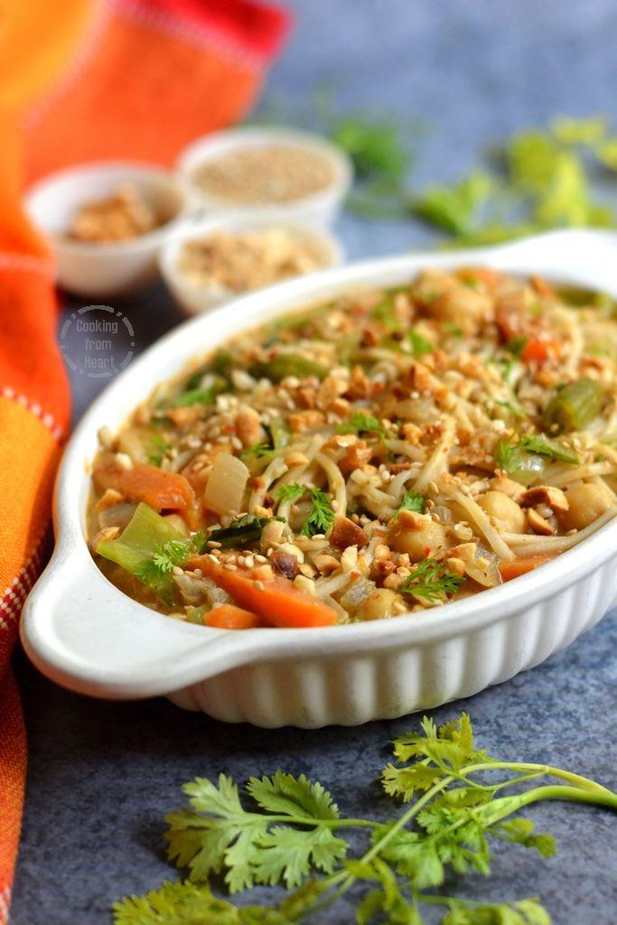 Vegan Curry Noodles