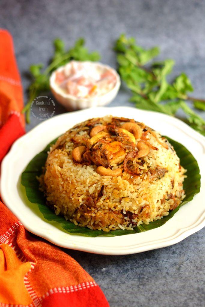 Malabar Style Egg Roast Biriyani