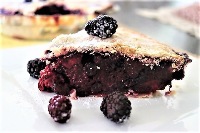 berries pie