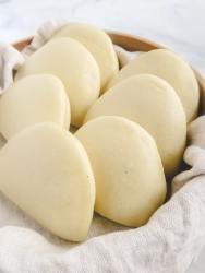 fresh bao buns.
