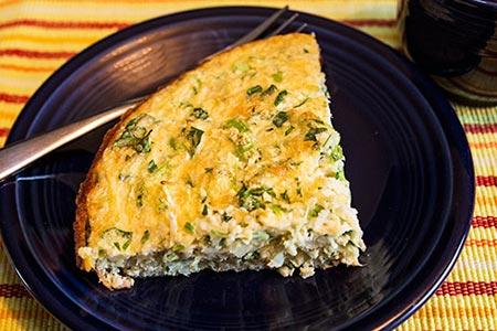 Lebanese Cauliflower Omelet