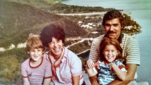 My family on vacation in Central America circa 1977.
