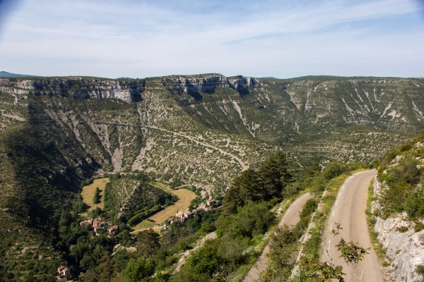 Cirque de Navacelles Southern France Cooking in Tongues