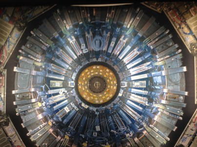 Hadron Collider exhibit