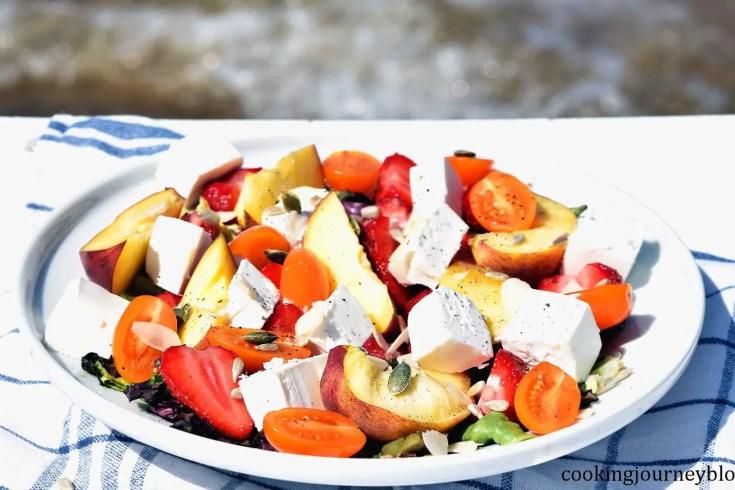 summer salad fruit salad