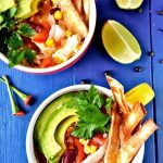 Mexican tortilla soup – Best chicken tortilla soup