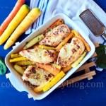 Baked chicken breast - Roasted carrots - Easter dinner ideas