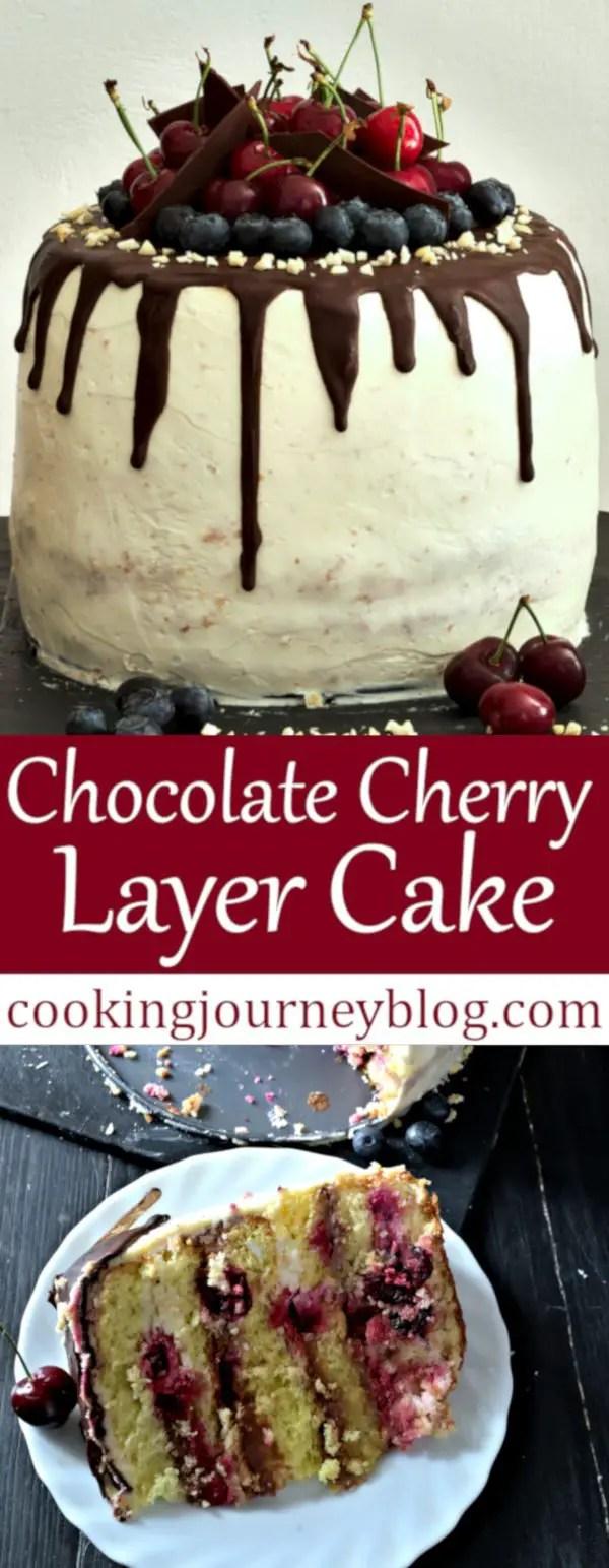 Chocolate Cherry Layer Cake Recipe Birthday Cake Design Ideas
