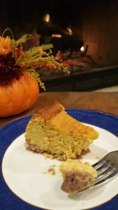 Layered or blended, this Pumpkin Pie Cheesecake is perfect for Thanksgiving!