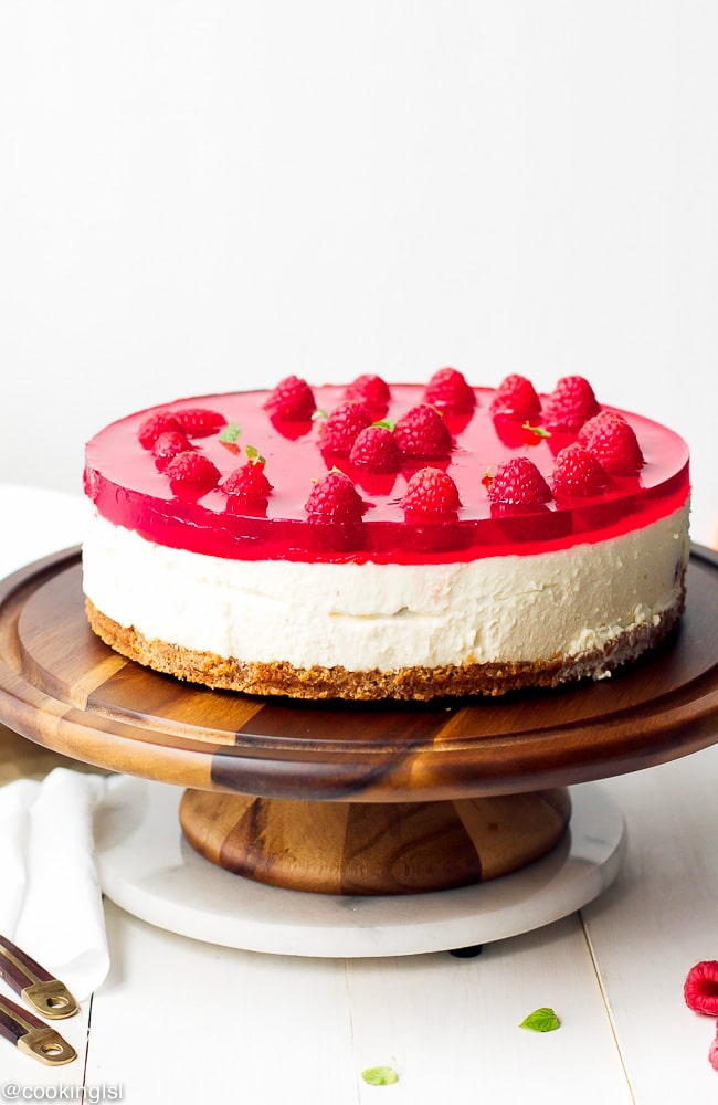 Easy Cake Recipe Raspberry