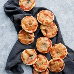 puff pastry mini margherita pizza