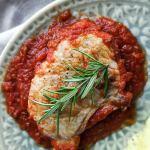 pork chop in tomato sauce