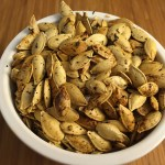 Roasted Pumpkin Seeds with Zatar