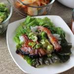 Korean Slow Cooked Pork in Lettuce Wraps
