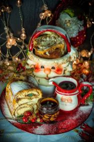 Romanian Christmas sweet bread on Cooking Romania by Vivi