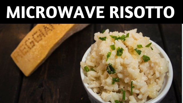 Microwave risotto