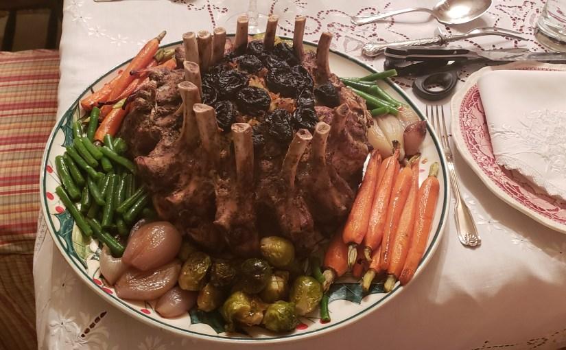 Crown Roast of Pork Dinner
