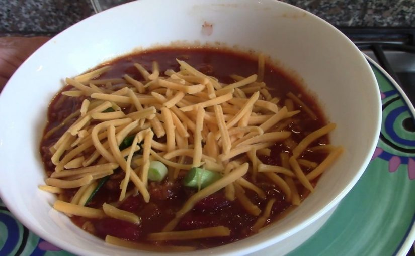 My recipe for Cincinnati Chili