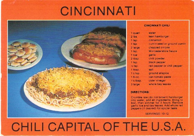 Cincinnati postcard cinci