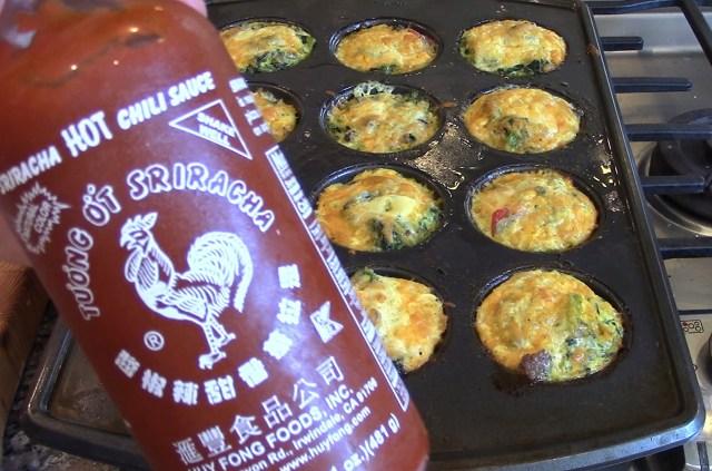 Sriracha Sauce for a little kick