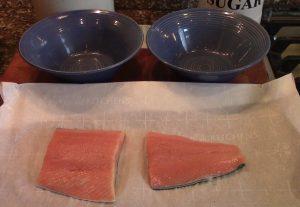 Walnut Crusted Salmon Plain
