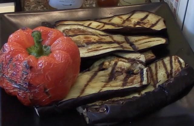 Eggplant & Pepper Roasted