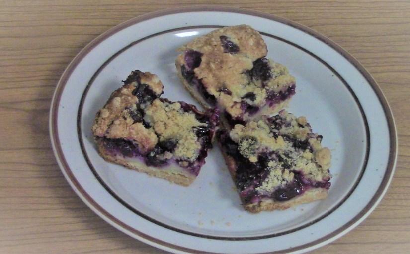 Blueberry Pie Bars (In Leland, MI)