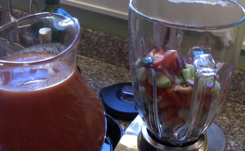 Gazpacho - an easy recipe
